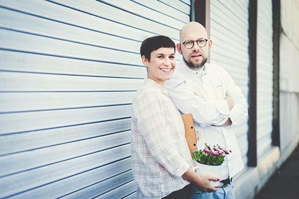 Sarah und Simon Kaiser. Foto: Andreas Brüstl